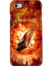 Harmonica On Flame  Phone Case i-phone-7-case