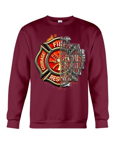 I Became A Firefighter