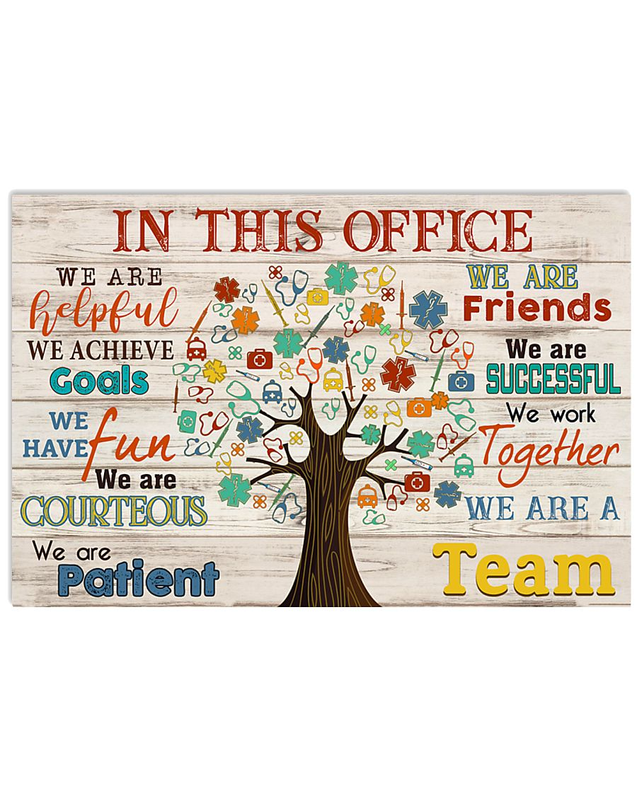 Paramedic we are a team 17x11 Poster