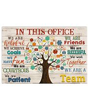 Paramedic we are a team 17x11 Poster front
