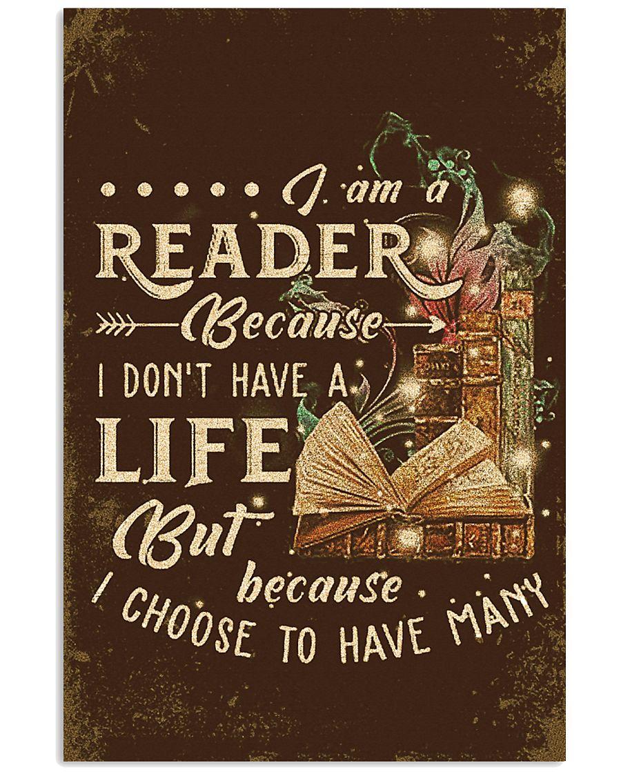 Librarian I Am A Reader 11x17 Poster