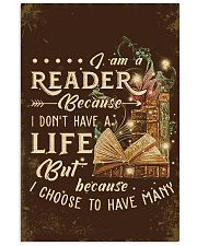 Librarian I Am A Reader 11x17 Poster front