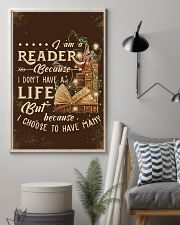 Librarian I Am A Reader 11x17 Poster lifestyle-poster-1