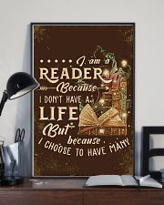 Librarian I Am A Reader 11x17 Poster lifestyle-poster-2