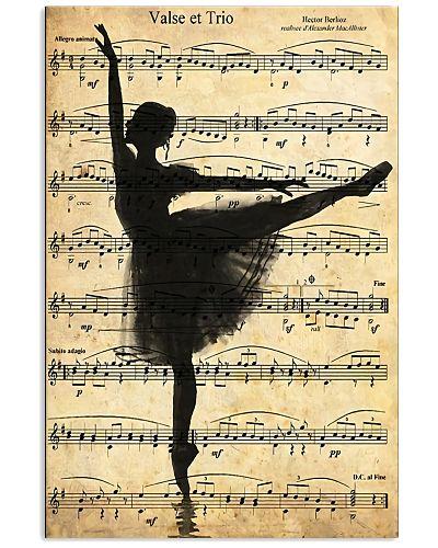 Ballet Ballerina Retro Vintage