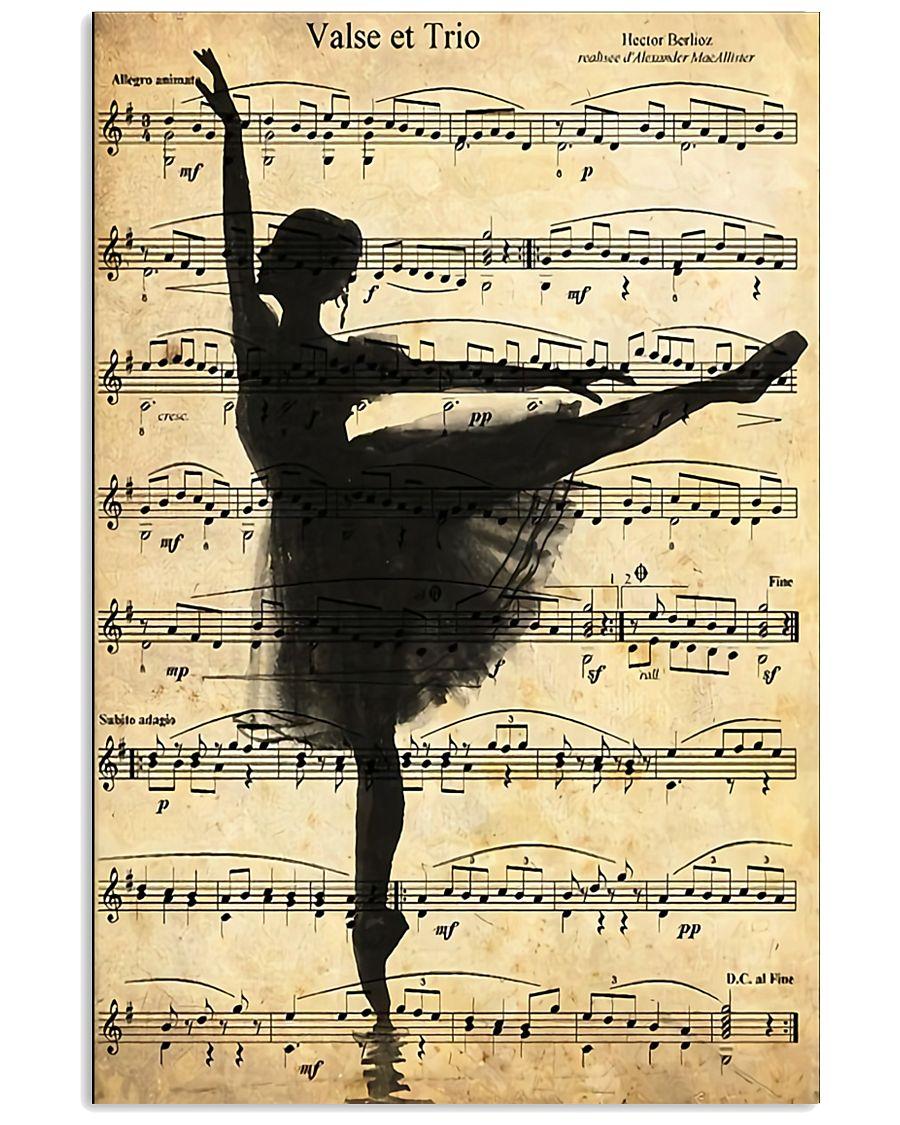 Ballet Ballerina Retro Vintage 11x17 Poster