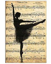 Ballet Ballerina Retro Vintage 11x17 Poster front