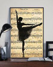 Ballet Ballerina Retro Vintage 11x17 Poster lifestyle-poster-2