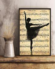 Ballet Ballerina Retro Vintage 11x17 Poster lifestyle-poster-3