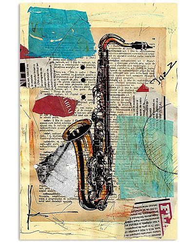 Saxophone Unique Poster