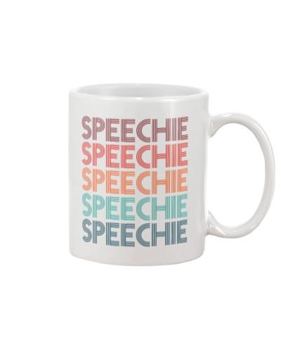 Speech Language Pathologist Colorful Speechie