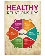 Social Worker Healthy Relationships 11x17 Poster front