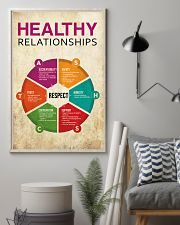 Social Worker Healthy Relationships 11x17 Poster lifestyle-poster-1