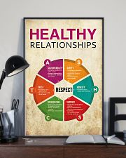 Social Worker Healthy Relationships 11x17 Poster lifestyle-poster-2