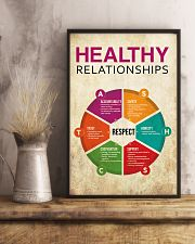 Social Worker Healthy Relationships 11x17 Poster lifestyle-poster-3