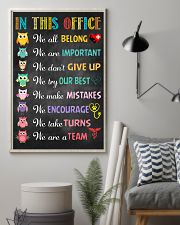 Veterinarian We are important We don't give up 11x17 Poster lifestyle-poster-1