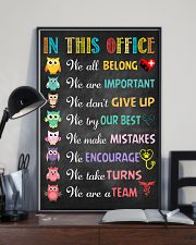 Veterinarian We are important We don't give up 11x17 Poster lifestyle-poster-2