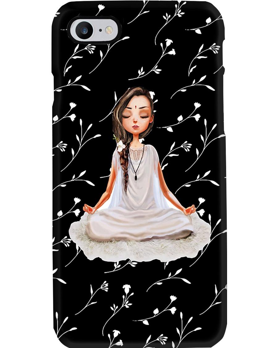 Yoga Little Girl  Phone Case