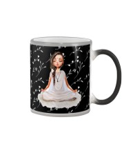 Yoga Little Girl  Color Changing Mug thumbnail
