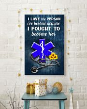 Paramedic I love the person I've become 11x17 Poster lifestyle-holiday-poster-3