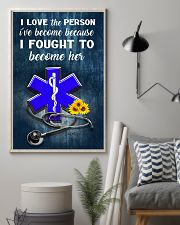 Paramedic I love the person I've become 11x17 Poster lifestyle-poster-1