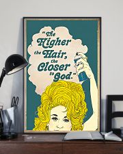 Higher Hair Hairdresser 11x17 Poster lifestyle-poster-2