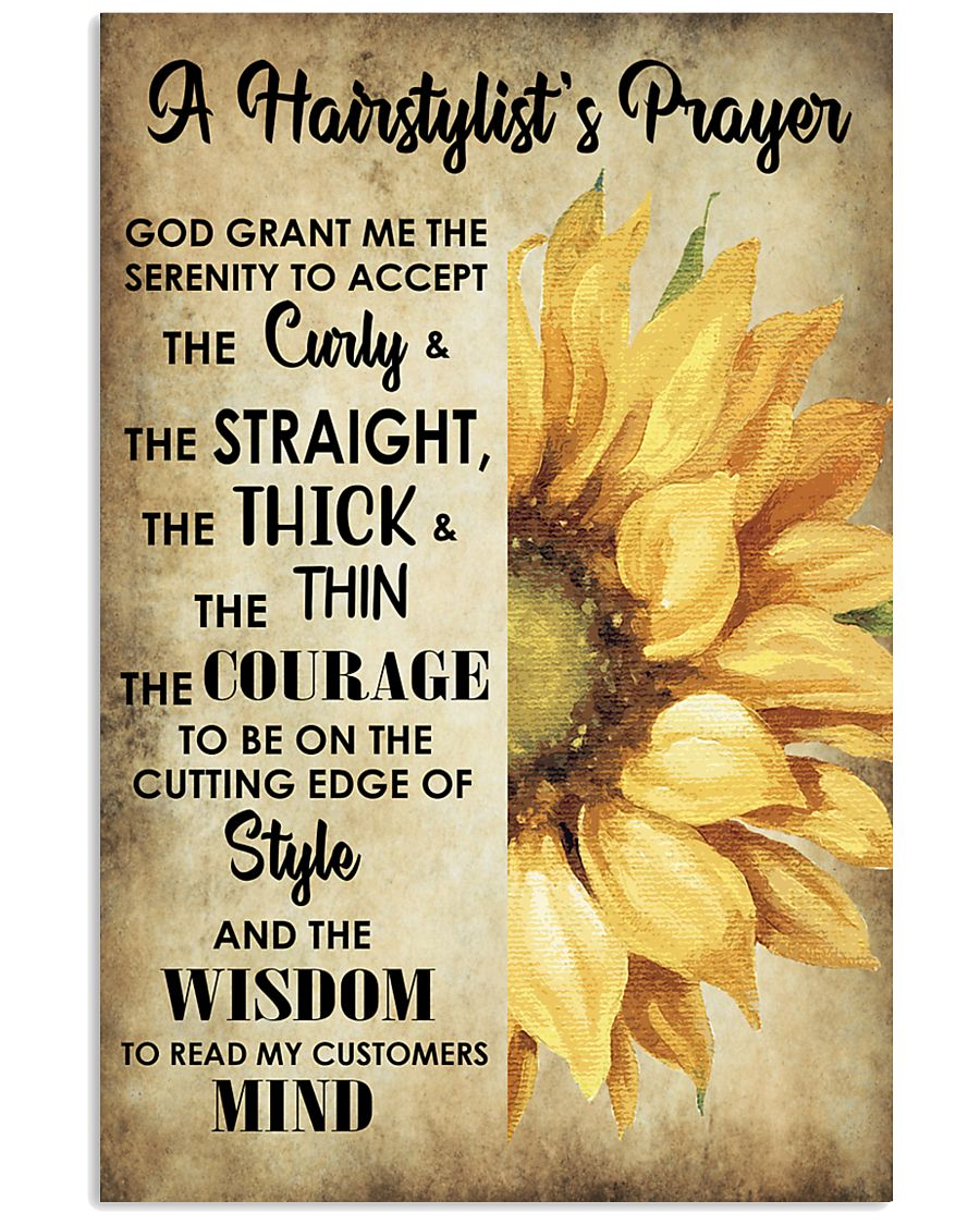 A Hairstylist's Prayer 11x17 Poster