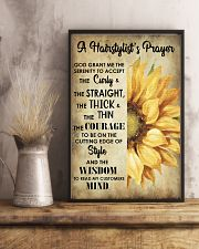 A Hairstylist's Prayer 11x17 Poster lifestyle-poster-3