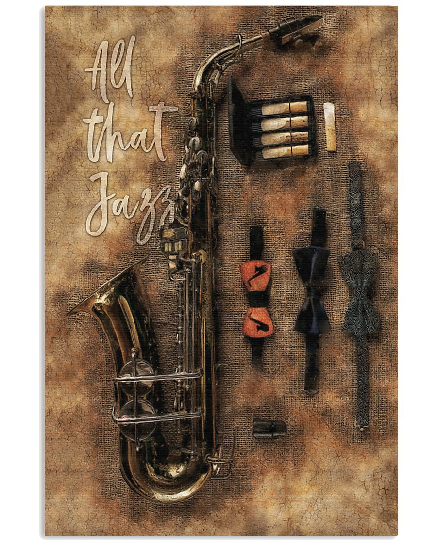 Saxophone - All that jazz 11x17 Poster