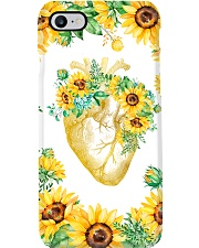 Cardiologists Sunflower Heart Phone Case i-phone-7-case