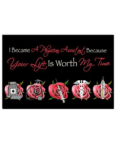 Physician Assistant Your Life Is Worth My Time