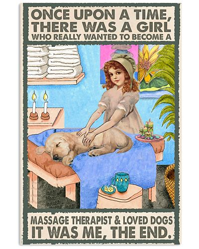 Massage Therapist loved dogs