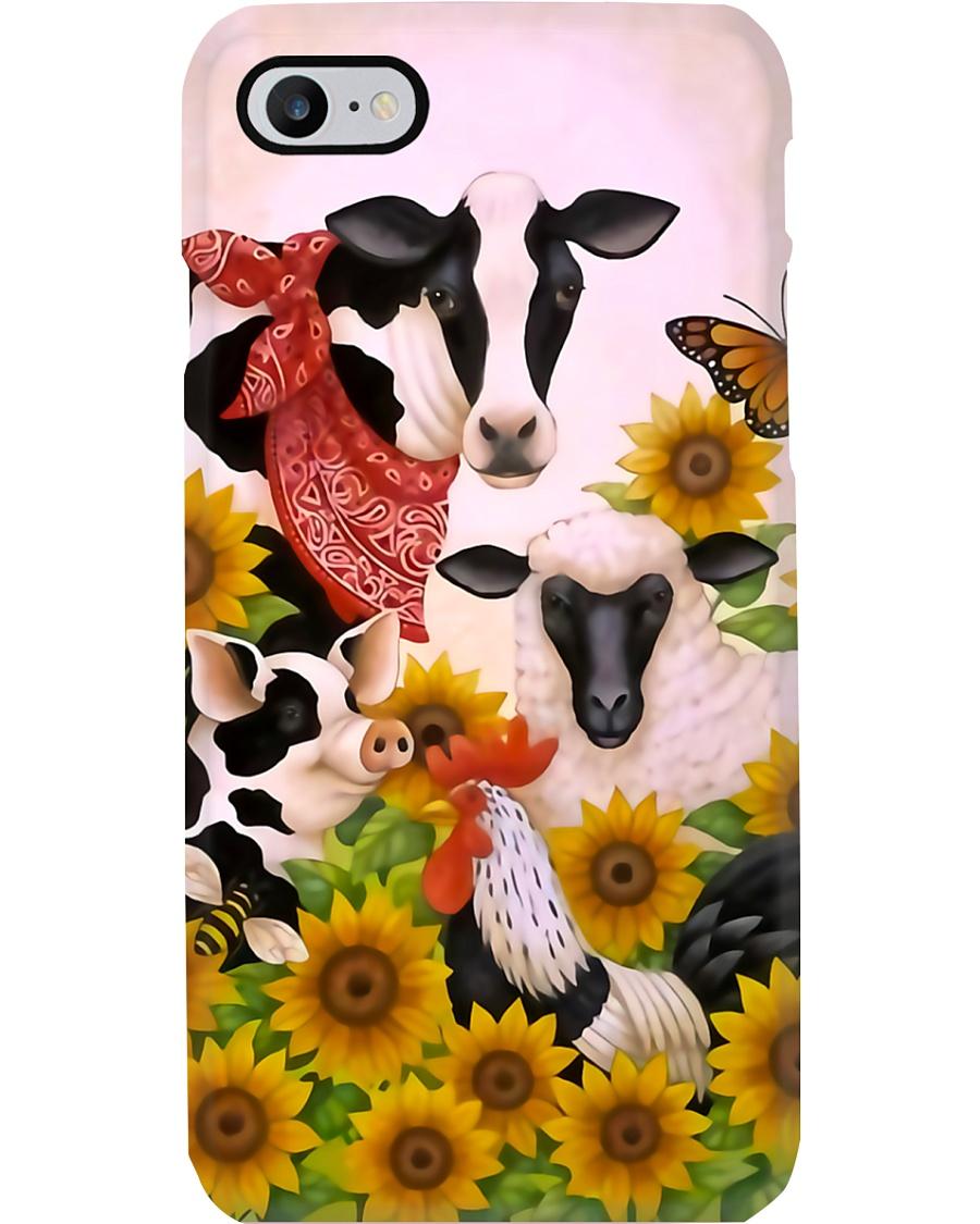 Farmer Colorful Farm Phone Case