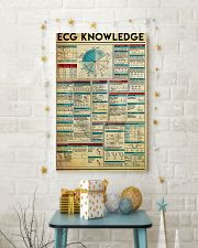 Paramedic ECG Knowledge 11x17 Poster lifestyle-holiday-poster-3