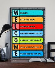 Social Worker - Cooperation is expected 11x17 Poster lifestyle-poster-2