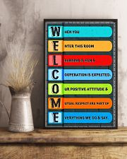 Social Worker - Cooperation is expected 11x17 Poster lifestyle-poster-3