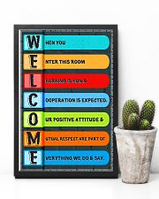 Social Worker - Cooperation is expected 11x17 Poster lifestyle-poster-8