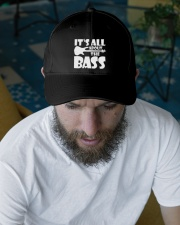 It's All About The Bass Embroidered Hat garment-embroidery-hat-lifestyle-06