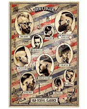 Holy Tiger Old School Classic Hairdresser 11x17 Poster front