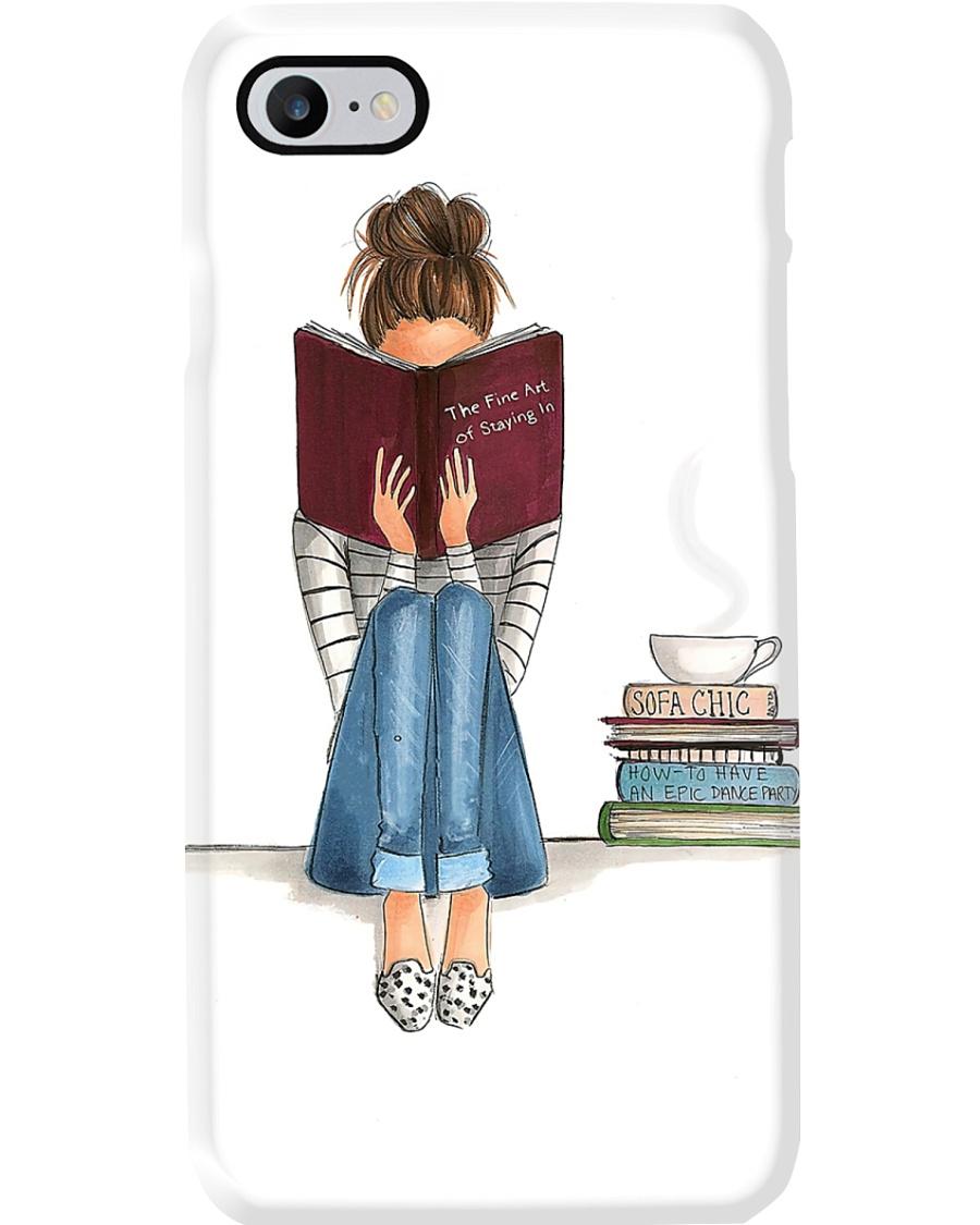Book Lover Girl Gift Phone Case