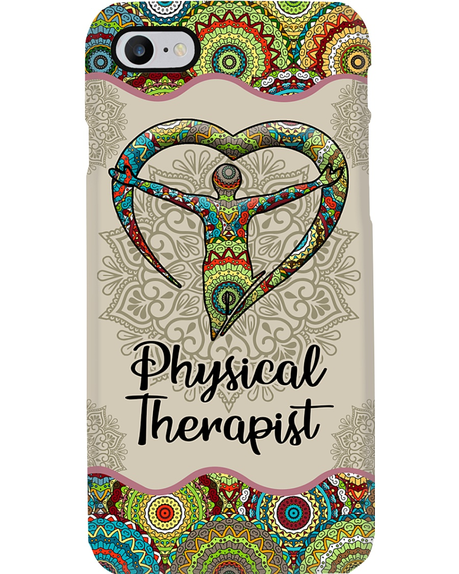 Physical Therapist Unique Pattern Symbol Phone Case