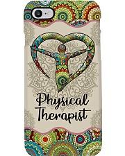 Physical Therapist Unique Pattern Symbol Phone Case i-phone-8-case