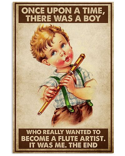 A Boy Really Wanted To Become A Flute Artist