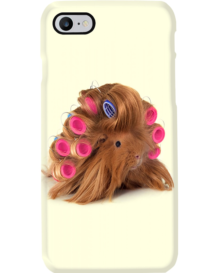 Hairdresser Hair Rolling Mouse Phone Case