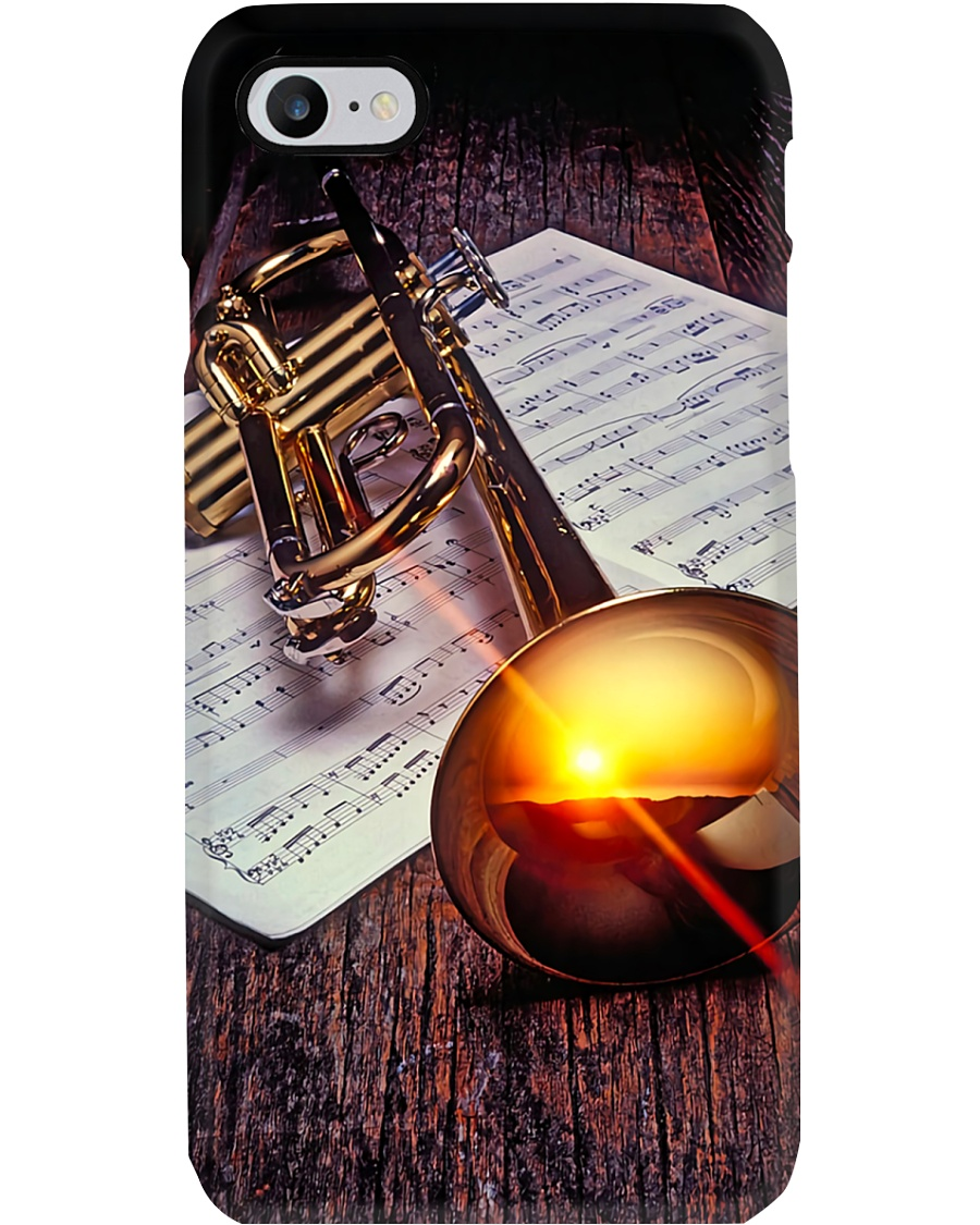 Trumpeter Trumpet in the Sunshine  Phone Case