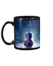 Violin And Winter Mug back