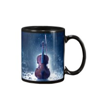 Violin And Winter Mug front