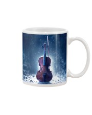 Violin And Winter Mug tile