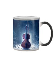 Violin And Winter Color Changing Mug thumbnail
