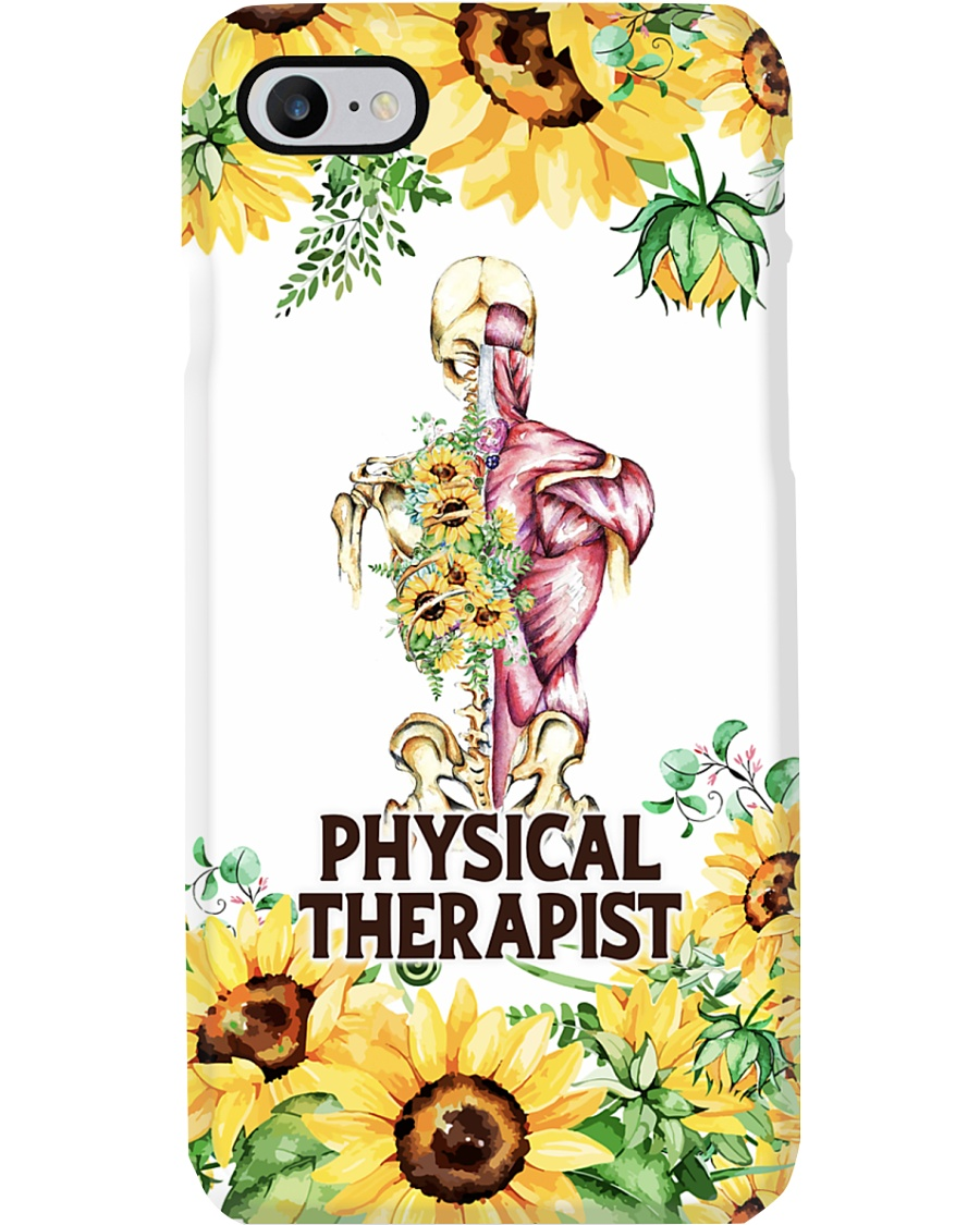 Physical Therapist Sunflowers  Phone Case